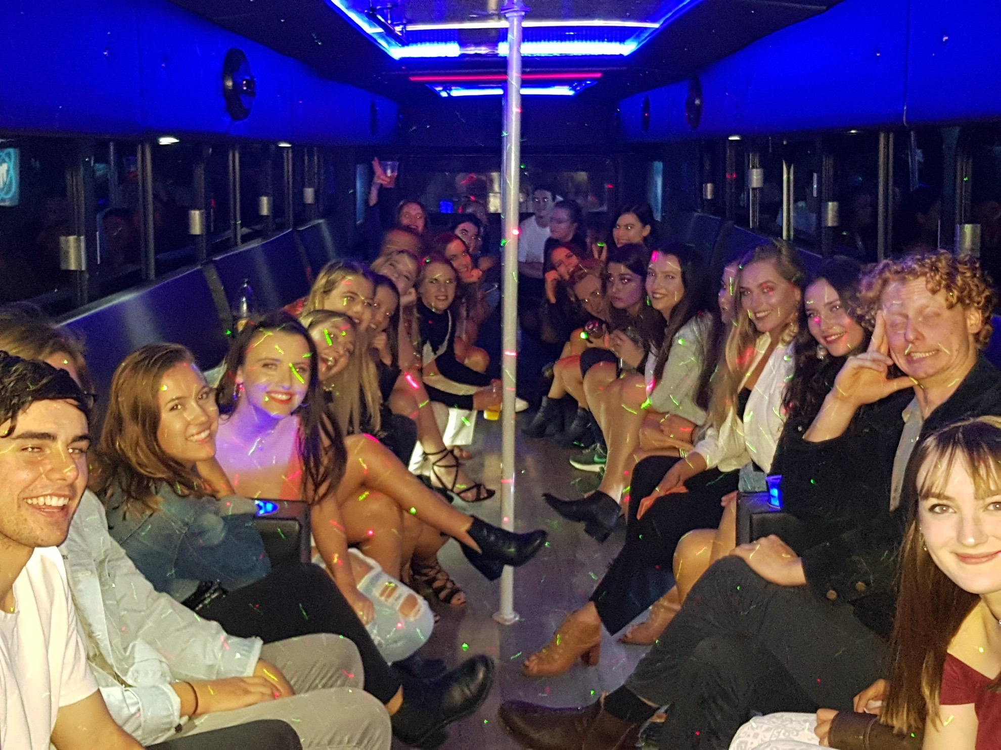 Book your Perth party bus
