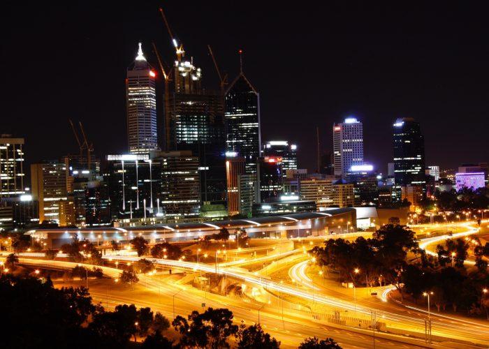 A To B Transfer Perth's Skyline