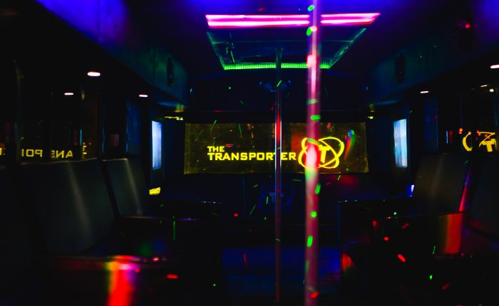 perth party on a bus
