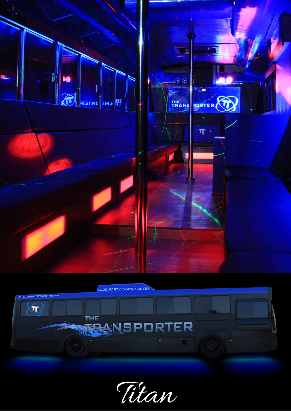 Titan Party Bus Party Bus Hire