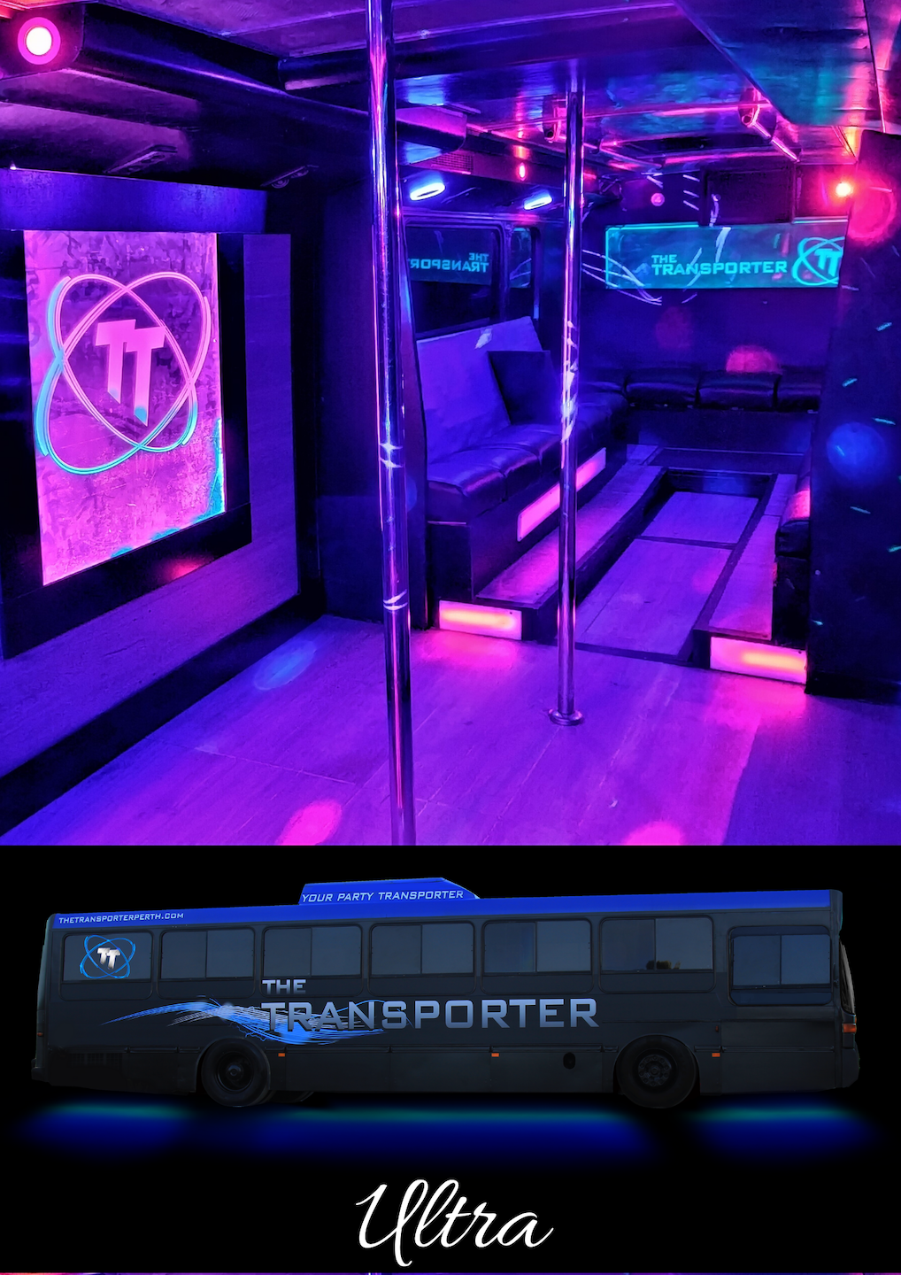 Party Bus Hire - Ultra